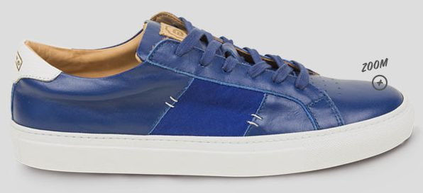 The Royale   Mediter Blue    White Sole   Greats2
